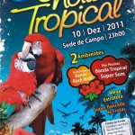 Noite Tropical no Clube Recreativo